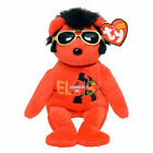TY Beanie Baby - YOUR TEDDY BEAR the RED Elvis Bear (Walgreen's Exclusive) MWMTs