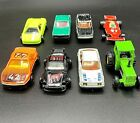 Majorette Lot of 8 Vintage Diecast Toy Cars Rare Made In France Collectible