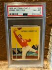 1935 National Chicle 13 Homer Griffiths PSA 8 Cardinals New Holder Well Centered