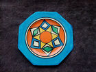 Clarice Cliff Octagonal Abstract Diamonds Plate c.1930-1936