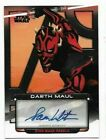 2012 Topps Star Wars Galactic Files Autographs Guide 20