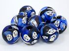8 Face Millefiori Beads Glass Cane Beads Size 10 x 14mm Each One Unique Lot of 8