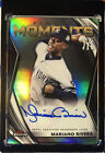 2021 Topps Finest Moments Refractor Autograph #FMAMR Mariano Rivera