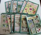 DONNA DEWBERRY ONE STROKE 12 Decorative Paint Craft Book Lot + 7 Reusable Guides