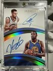 2016-17 immaculate stephen curry kevin durant #1 duo autograph 34 49