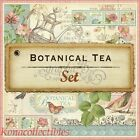 Graphic 45 Botanical Tea 12 X 12 Paper 8 Pages of 16 Designs