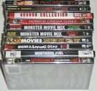 Horror DVD Lot of 10 Prom Night Werewolf Collection Monster Movie Mix New