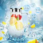 52 Ounces Glass Pitcher with Lid Heat resistant Water Jug for Hot Cold Water US