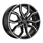 ALLOY WHEEL MSW 41 AUDI TT COUPE Staggered 9x20 5x112 ET 35 GLOSS BLACK FULL 6a0
