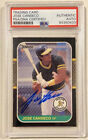 Jose Canseco Cards, Rookie Cards and Autographed Memorabilia Guide 48