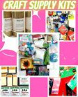 Large Mixed Lot of Craft Supplies Over 20 New  Remnant Items DIY Project Kit
