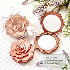 28 120 Dusty Rose Design Mirror Compact Wedding Shower Party Favors