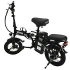 14 Folding Electric Bike for Adult Ebike 48V 350W Motor Foldable Moped Bicycle