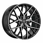 ALLOY WHEEL MSW 74 FOR AUDI RS4 85x19 5x112 ET 30 GLOSS BLACK FULL POLISHED 5d8