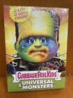 SEALED GREEN BOX Garbage Pail Kids x Universal Monsters Stickers Cards 2019 SDCC