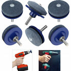 10Pcs Universal Lawn Mower Faster Blade Sharpeners Grinding Power Hand Drill Lot