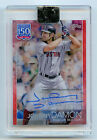 Johnny Damon #YBP-JD signed autograph auto 2019 Topps Clearly Authentic 21 50