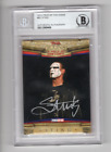 2010 Tristar TNA Icons Sting Auto Signed Card #83 Beckett Certified BAS