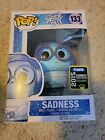 Funko Pop! Inside Out Sadness 133 Summer Convention 2015 Glitter sdcc exclusive