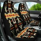 Black Tribe Design Native American Car Seat Covers Car Accessories Gift family