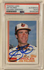 Jim Palmer Cards, Rookie Cards and Autographed Memorabilia Guide 36