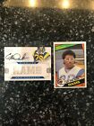 2013 Panini National Auto Eric Dickerson (#4 of 4) AND Free 84 Dickerson Rook(1)