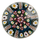 A Paul Ysart Patterned Millefiori Paperweight From Post War Moncrieff Period c19