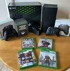 X BOX SERIES X CONSOLE BUNDLE  -USED LESS THAN 5 TIMES IMMACULATE CONDITION