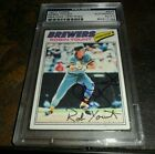 Robin Yount Cards, Rookie Cards and Autographed Memorabilia Guide 43
