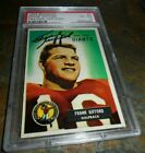 Frank Gifford Cards, Rookie Cards and Autographed Memorabilia Guide 30