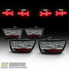 Smoked 2010 2013 Chevy Camaro Lumileds LED Tail Lights Brake Lamps Left+Right