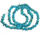 T425 Sleeping Beauty Blue Turquoise Small 4mm 5mm Gemstone Chip Beads 16