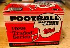 1989 Topps Traded Series Football Complete Set, Barry Sanders & Aikman Rookie