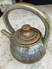 TEAPOT STUDIO ART POTTERY STAMPED Nice Piece 91 2 Tall Handle Is All Glass