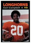 Top 10 Earl Campbell Football Cards 18