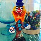 Murano Glass Clown with Egg