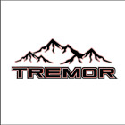 SET OF FORD TREMOR MOUNTAIN CLASSIC COLORS F 250 DECAL DIE CUT