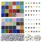Beads Jewelry Making Kit Beads for Bracelets Craft and Art Glass Alphabet Letter