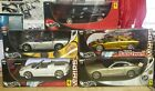 LOT OF 5 HOT WHEELS 1 18 SCALE SPORTS CARS AND SUPER CARS SEE DESCRIPTION