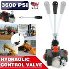 1 Spool 11GPM Hydraulic Directional Control Valves Acting Cylinder Spool 3600psi
