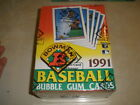 1991 Bowman Baseball Box BBCE Wrapped RARE FASC From A Sealed Case
