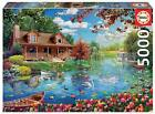 Educa 19056 Little House on the Lake 5000 pieces Genuine Puzzle