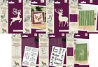 NEW 2021 Reindeer Mini Collection Stamp or Dies by Crafters Companion