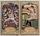 2012 Topps Gypsy Queen Variation Short Prints Checklist and Visual Guide 56