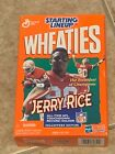 1999 Jerry Rice Starting Lineup Wheaties NEVER OPENED