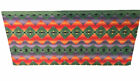 Extra Large Blanket Native American Aztec Print Wool Throw 100 X 88 Colorful