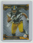TROY POLAMALU Signed 2013 Topps Finest Football #23 Autograph ON CARD AUTO