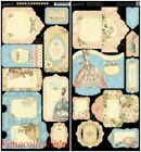 GRAPHIC 45 Gilded Lily Tags  Pockets NewVintage French If Crown Fits