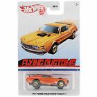 Hot Wheels 2021 Flying Customs 70 Ford Mustang Mach 1 GRT35 Side Tampo ERROR