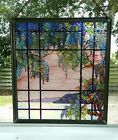 METROPOLITAN MUSEUM OF ART MMA LC TIFFANY REPRO STAINED GLASS PANEL